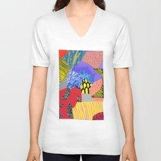 Colors & Shapes Unisex V-Neck
