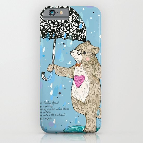 Mister Bear iPhone & iPod Case
