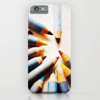 iPhone & iPod Case featuring Pencils by secretgardenphotography [Nicola]