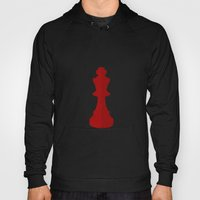 Red Chess Piece - No Tex… Hoody