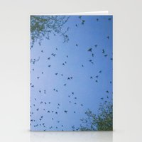 Wings Out Stationery Cards