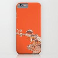 Tangerine Astronaut iPhone 6 Slim Case