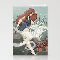 Bottom of the Sea Stationery Cards