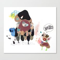 SayHello Canvas Print
