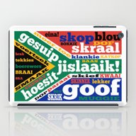 South African Slang And … iPad Case