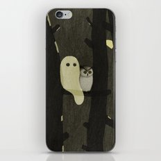 Little Ghost & Owl iPhone & iPod Skin