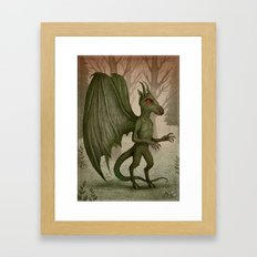 Jersey Devil Framed Art Print