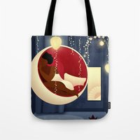 Bubble Chair Tote Bag