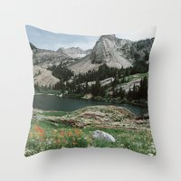Lake Blanche Throw Pillow