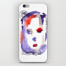 Carte Postale 2 iPhone & iPod Skin