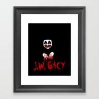 J.W. Gacy Framed Art Print