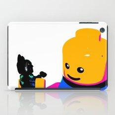 Pop Art Lego Man iPad Case