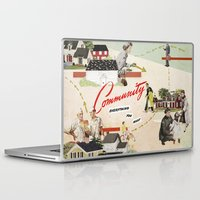 community Laptop & iPad Skins featuring Community by Heather Landis