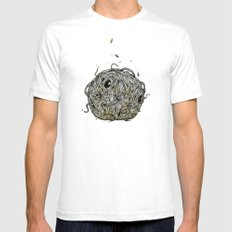 Sr Coprofago - Beetle shit Mens Fitted Tee White SMALL