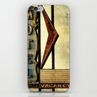 Vintage Arrow Motel Sign iPhone & iPod Skin