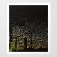 Photon Traffic Art Print