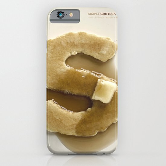 Simply Grotesk iPhone & iPod Case