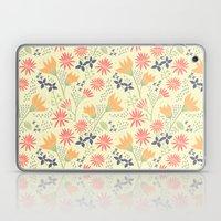 Autumn Floral Pattern Laptop & iPad Skin