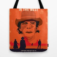 Once Upon A Time In The West Poster: Harmonica Tote Bag