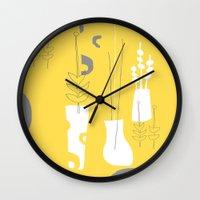 Modplants Wall Clock