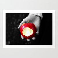 Poison Apple Art Print