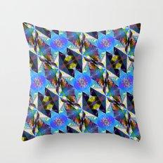 Honeycomb1 C Throw Pillow