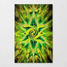 RASTA STAR Canvas Print
