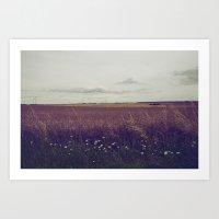 Autumn Field III Art Print