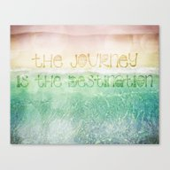 Canvas Print featuring The Journey by Jenndalyn