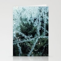 Seasonal window dressing Stationery Cards
