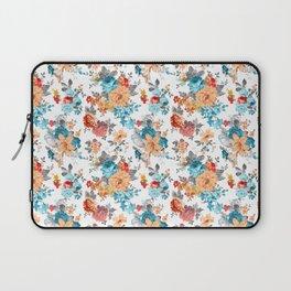 Laptop Sleeve - Seamless Floral Pattern - Eduardo Doreni