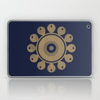 Wooden Flower Laptop & iPad Skin