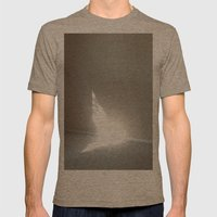 Angel In My Room Mens Fitted Tee Tri-Coffee SMALL