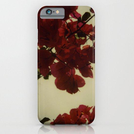 Floral Formula Polaroid iPhone & iPod Case