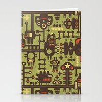 World of robots. Stationery Cards