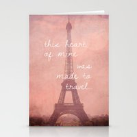 This Heart Was Made To T… Stationery Cards