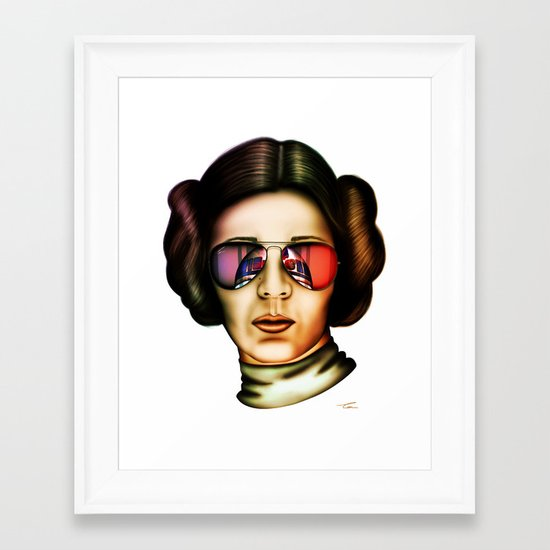 STAR WARS Princess Leia  Framed Art Print