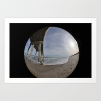 Fisheye View Art Print