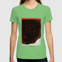 - Rock - Womens Fitted Tee Grass SMALL