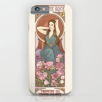 iPhone & iPod Case featuring The little rose by ElinJ