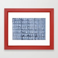 Crying Oysters Framed Art Print