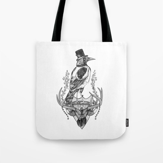 Mr. Magpie Tote Bag