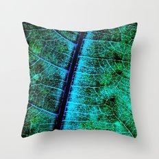 BreadfruitLeaf Throw Pillow