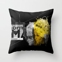 Blondit Throw Pillow