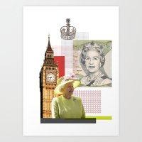 Great Britain Art Print