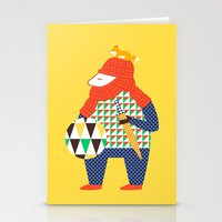 Warrior's Pet Stationery Cards