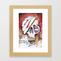 snitches Framed Art Print
