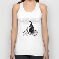Audrey Always Knows What… Unisex Tank Top