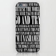 Black Parade iPhone 6 Slim Case