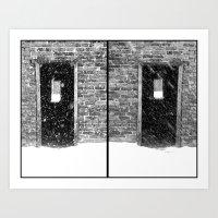 Double Doors Art Print